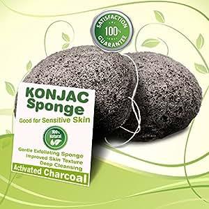 Amazon Com Gaia Konjac Bath Sponge The Gentle Alternative