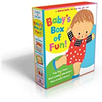 Baby's Box of Fun: A Karen Katz Lift-the-Flap Gift Set: Where Is Baby's Bellybutton?; Where Is Baby's Mommy?: Toes, Ears…