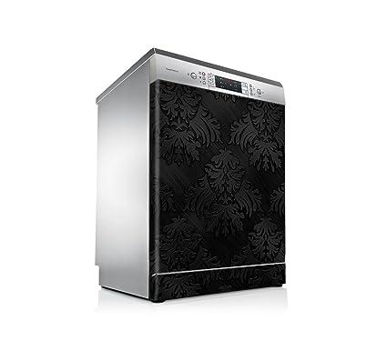 setecientosgramos Vinilo Lavavajillas | Stickers Dishwasher | Pegatina Lavavajillas | Black Texture