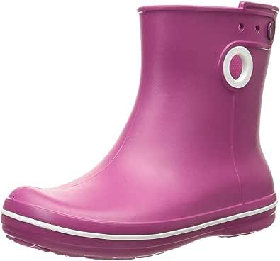 crocs Women's Jaunt Shorty Boot, Berry, 5 M US