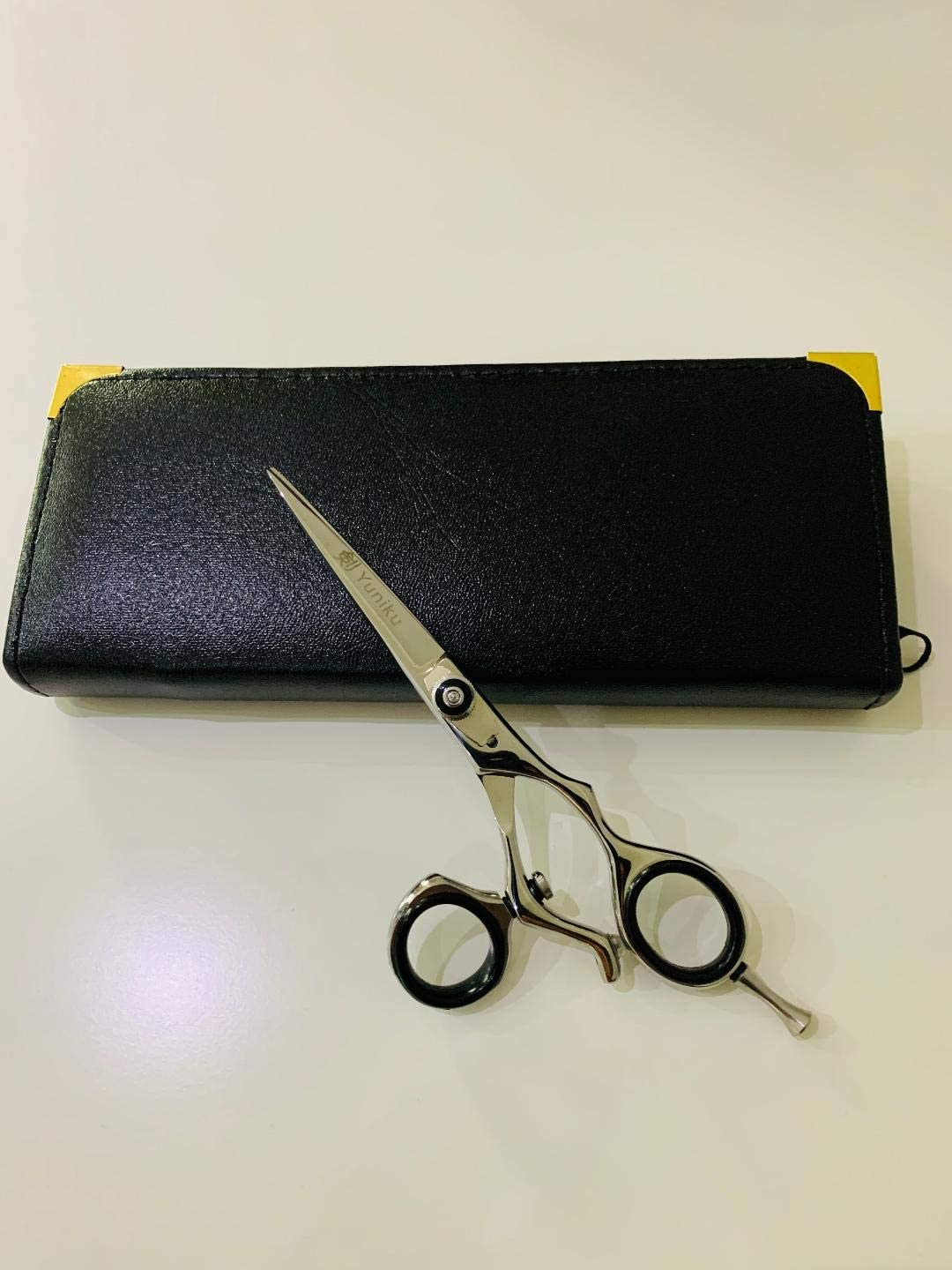 Swivel Ring Professional Hairdressing Scissors Haircutting Barber