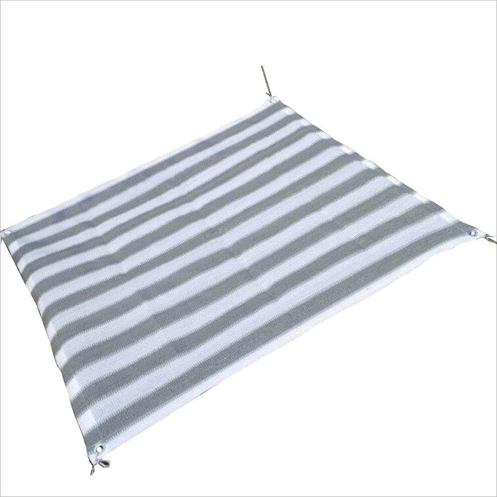 PENGFEI オーニングシェーディングネット 園芸 厚い パティオ クールダウン カーポート 日焼け止め 防塵の ポリエチレン、 複数のサイズ (色 : Gray+white, サイズ さいず : 3 x 7m) B07FTPN4Z4 3 x 7m Gray+white Gray+white 3 x 7m