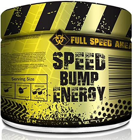 Speed Bump Energy Pre Workout Supplement Powder