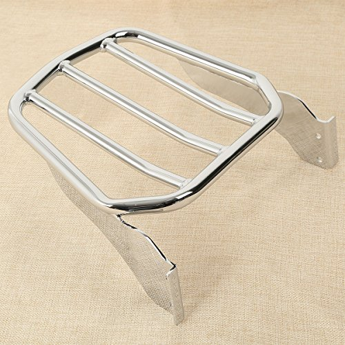 XFMT Tapered Sport Luggage Rack Compatible with Harley CVO Softail Springer FXSTSSE 2007 2008 2009 ()