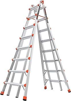Little Giant Ladders - Escalera portátil ajustable que soporta hasta 136 kg. modelo SkyScraper.: Amazon.es: Bricolaje y herramientas