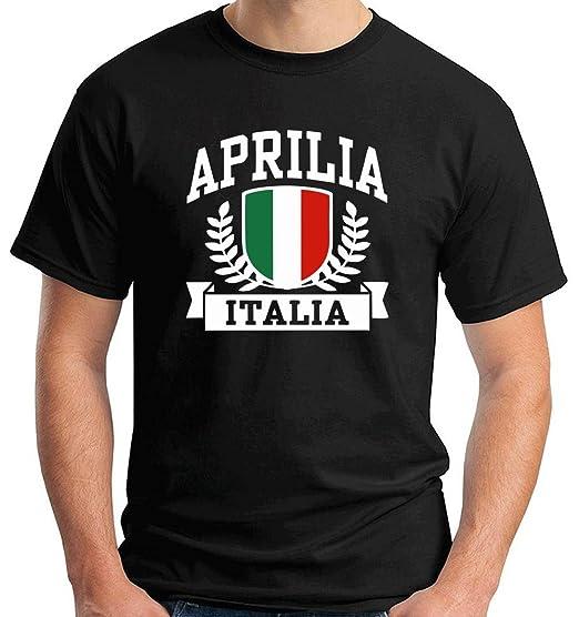 T-Shirtshock - T-Shirt TSTEM0136 Aprilia Italia
