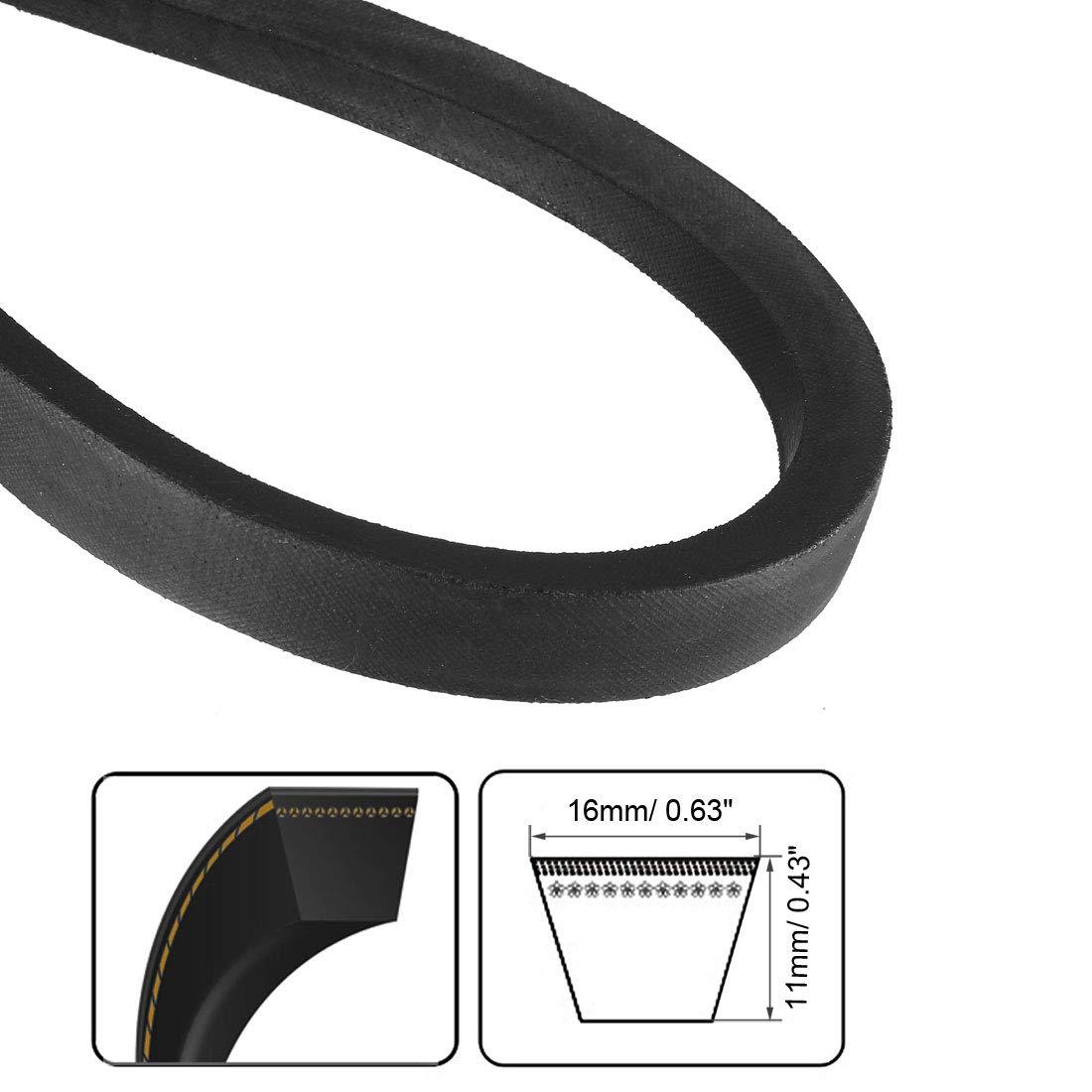 sourcing map B-1067//B42 Drive V-Belt Inner Girth 42-inch Industrial Power Rubber Transmission Belt
