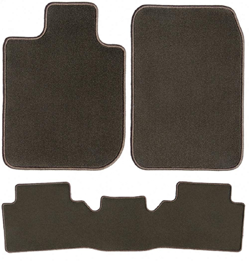2009 Passenger /& Rear Floor 2008 2010 Saturn Outlook Brown Driver GGBAILEY D4570A-S2B-CH-BR Custom Fit Car Mats for 2007