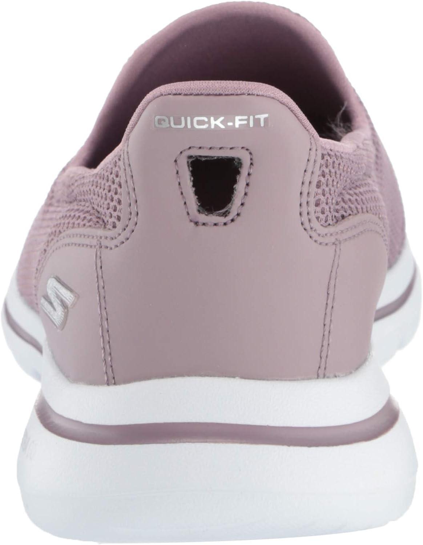 Skechers Women's Go Walk 5 Performance Sneaker Mauve