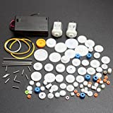 ELEDIY DC Motor and Plastic Gear Kit Motor Gear Sets For DIY Car Robot