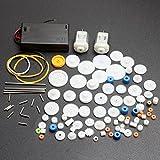 motor car kit - ELEDIY DC Motor and Plastic Gear Kit Motor Gear Sets For DIY Car Robot
