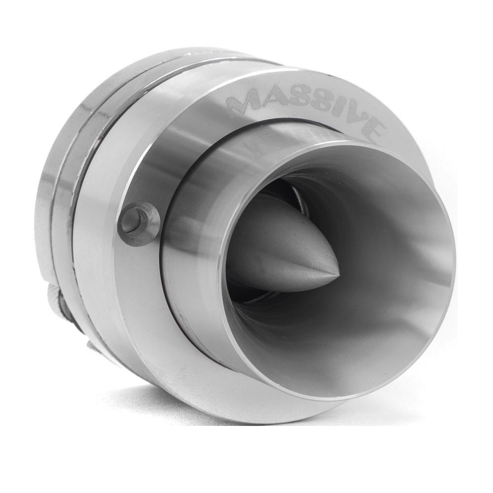 Massive Audio CT4 Neodymium Tweeter - Super Bullet Tweeter Speaker for Cars. Heavy Duty Titanium Tweeter Built as Competition Tweeter for that Loud and Crisp Sound. Sold Individually.