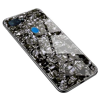 Amazon.com: SHUNDA Bling - Carcasa de cristal templado para ...