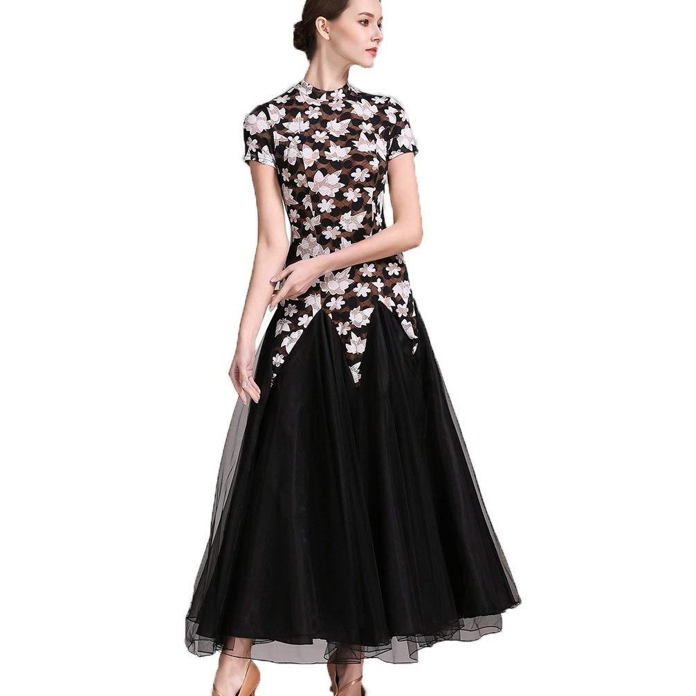偉大な 女性のための現代のダンスコンペティションドレス半袖カエデの葉モデルの自己文化ランニングサロンダンス衣装 B07QG1VWYB M|マルチカラー B07QG1VWYB まるちから゜ まるちから゜ マルチカラー まるちから゜ M M, ベクトル プリマベーラ店:a201f02f --- a0267596.xsph.ru