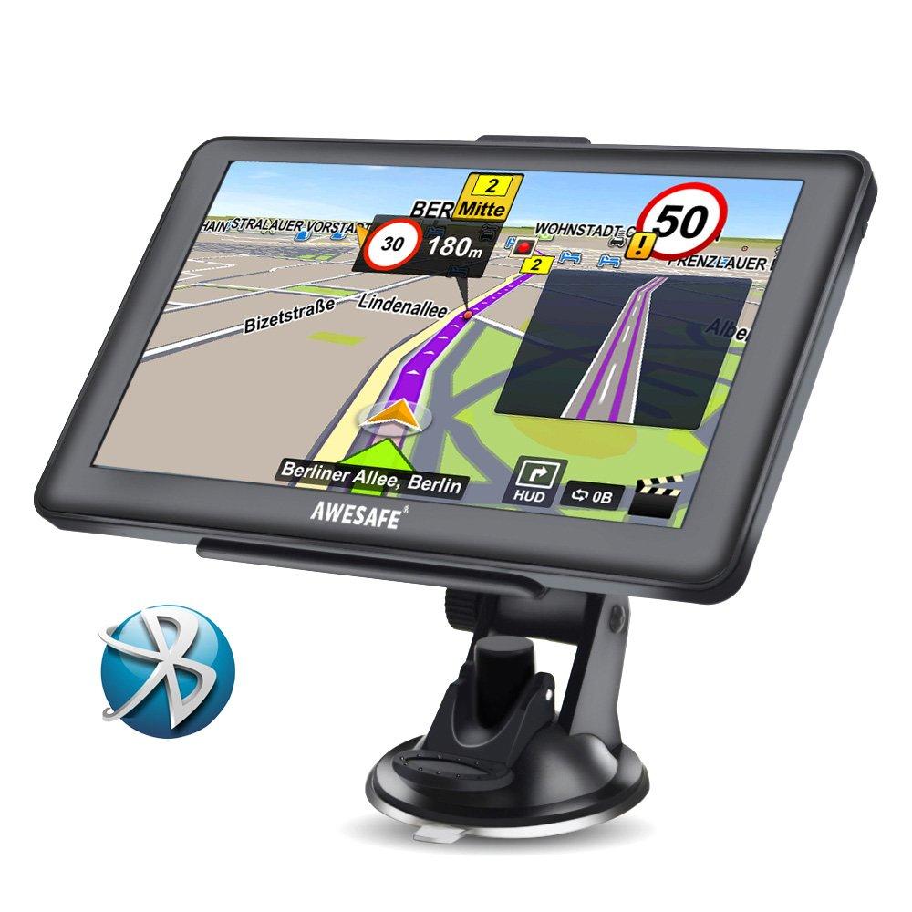 AWESAFE Navigationsgerä t 7 Zoll Touchsreen 8GB/256M mit Bluetooth Lebenslang Karten Shenzhen Datong World Technology Co. Ltd.