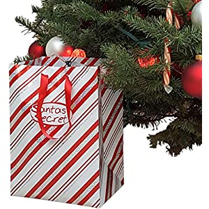 Santas Secret Gift - Automatic Christmas Tree Watering System (Candy Cane) World's TOP Selling Waterer Since 1998.   Made in USA