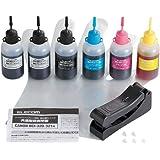 エレコム 詰め替えインク キャノン BCI-321 BCI-320PGBK対応 5色セット5回分 THC-MP630SETN