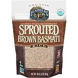 Lundberg Organic Sprouted Brown Basmati Rice, 1 Pound -- 6 per case.