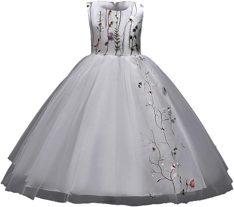 2fa105d12b9fa Mhomzawa 子供ドレス キッズドレス ワンピース 女の子 ガールズ フォーマル 発表会 結婚式 入園式 演奏
