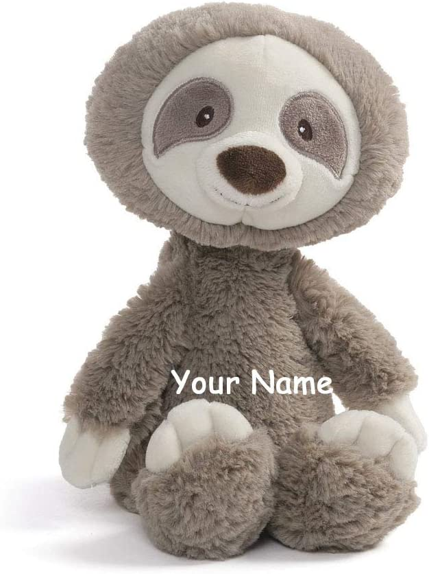 Personalized Baby Stuffed Animals, Amazon Com Personalized Baby Toothpick Sloth Plush Stuffed Animal Toy With Custom Name Toys Games