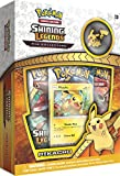 Pokemon TCG: Pikachu Shining Legends Pin Collection Includes Playable Promo Foil & Collector's Pin Plus 3 Shining Legends Expansion Booster Packs 31 Cards Total