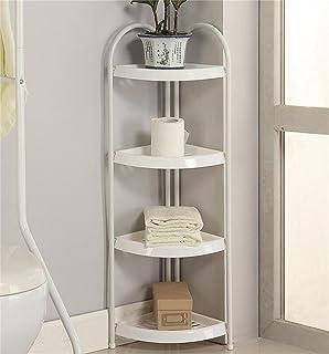 4 TIER Shower Caddy Corner Rust Proof White Shelf Kitchen Bathroom Storage  Unit   Heavy Duty