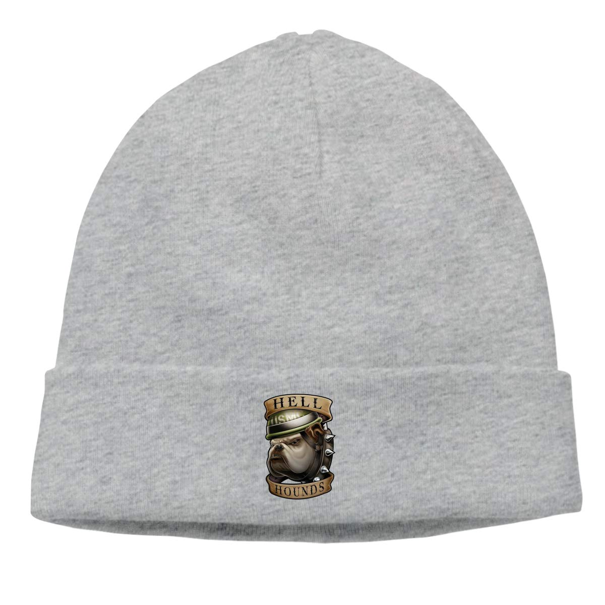 Black Ops Men /& Women Stretchy /& Soft Winter Beanie Hell Hounds