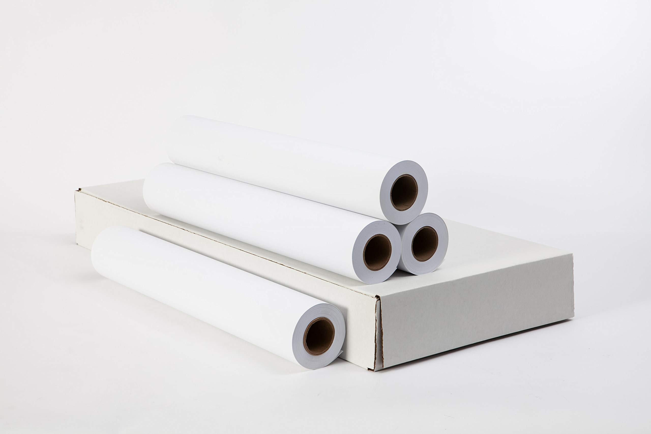 20# CAD Bond Inkjet Plotting Paper - 92 Bright - 20BIJ - 34'' x 150' (4 roll carton - 2 inch core)
