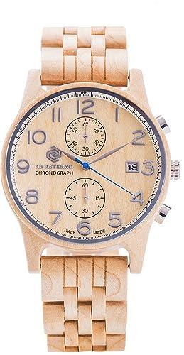 Silver Maple Wood Watch