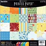 DMD Printed Paper Pad, 12-Inch-by-12-Inch, 100-Sheets, Kaleidoscope
