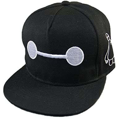 c38fab98632 TBSHOP Baymax Hat Adjustable Sun Baseball UINSEX Minions Caps Teenage Adult  Size - Black -  Amazon.co.uk  Clothing