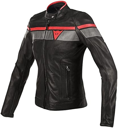 8e5a2c37872 Image Unavailable. Image not available for. Color: Dainese Women's  Blackjack Leather Jacket ...
