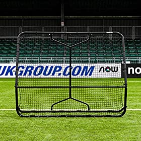 RapidFire Mega X Soccer Rebounder | Premium Soccer Rebound Net [Two Sizes]