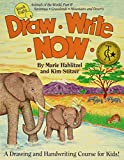 draw write now book 1 paperback - Draw Write Now Book 8: Animals of the World Part II: Grassland and Desert Animals
