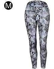 2d6c7c2b01f94 HEIRAO Women Yoga Pants European Snake Print Hip High Waist Sports Leggings  Fashion Slim Running Pants