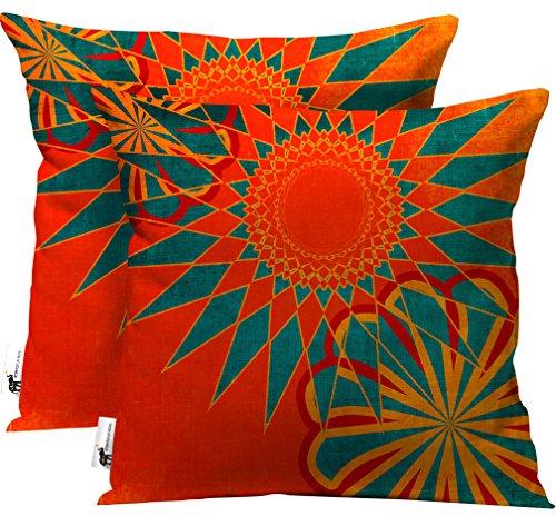 Cheap  UBU Republic Handmade Boho Outdoor Throw Pillows - Set of 2 -..
