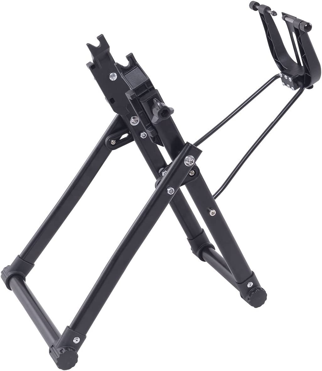 Goplus Wheel Truing Stand, Bike/Bicycle Tire Truing Stand, Foldable