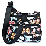 STUOYE Nylon Multi-Pocket Crossbody Purse Bags for Women Travel Shoulder Bag Butterfly
