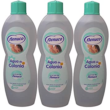 3 Nenuco Baby Cologne/agua De Colonia 20oz./600 ml