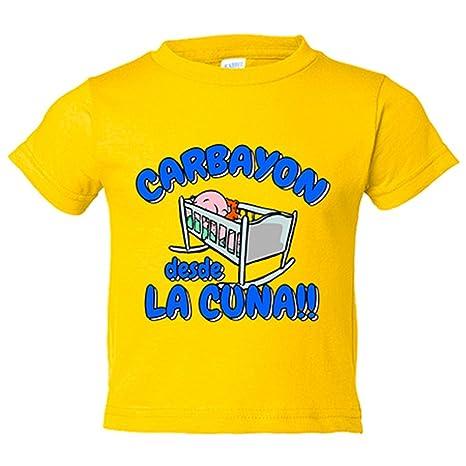 Camiseta niño Carbayón desde la cuna Oviedo fútbol ...