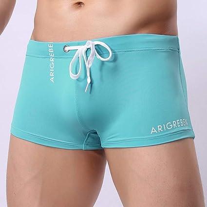 5d2d37fbac Amazon.com: Yliquor New Men's Boxer Briefs Swimming Swim Shorts Trunks  Swimwear Pants Quick Dry Classic Fashion Comfy Training Breathable Elastic:  Arts, ...