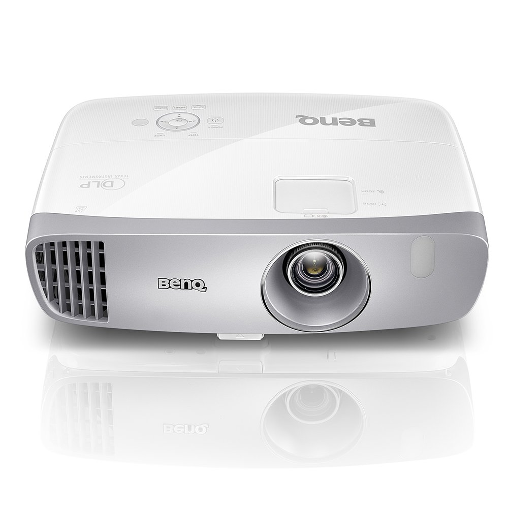 BenQ DLP HD 1080p Projector (HT2050) - 3D Home Theater Projector with All-Glass Cinema Grade Lens and RGBRGB Color Wheel