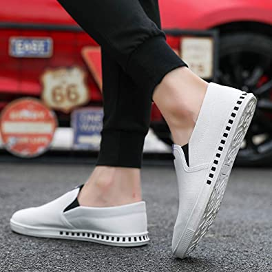 Nebwe Shoes Fashion Mens Lace Up Solid Shoes Sports Loafers Casual Canvas Sneakers Shoes Summer
