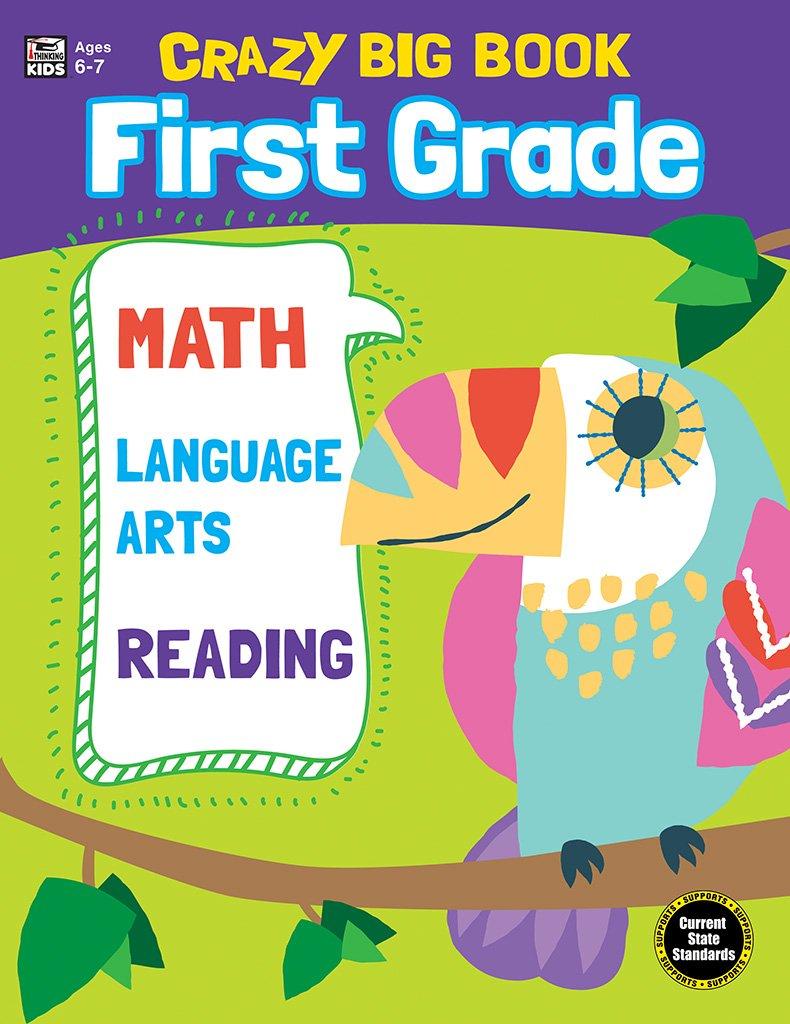 Crazy Big Book, Grade 1 by Carson-Dellosa
