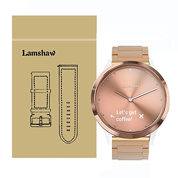 Amazon.com  Lamshaw Smartwatch Bands for Garmin Vivomove HR ... c4e08200164