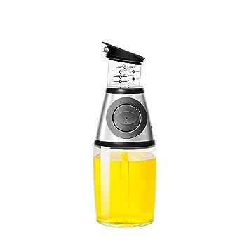 Dispensador de aceite de oliva, medidor y dispensador de aceite de cocina, medida en ML, TSP y TBSP (8,5 oz): Amazon.es: Hogar