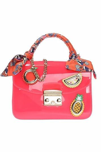 26a163577e Amazon.com  Furla Candy Dolcezza Mini Crossbody 941313 (Toni Mango ...