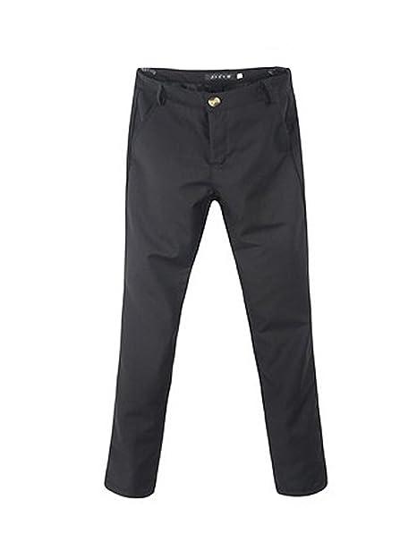 Amazon.com: jueshanzj para hombre chino pantalones de traje ...