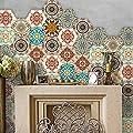 CaseFan 3D Floor Wall Sticker for Bathroom & Kitchen Backsplash Tile Sticker Antislip Decoration Removable Mural Decals 10PCS Vinyl Art