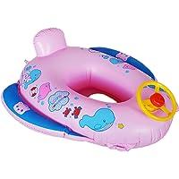 cadillaps asiento flotador para bebé 1–3años en forma